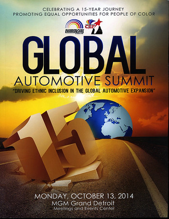 Rainbow Push 15th Annual Automotive Summit,  Networking and Awards Reception Oct 13 2014