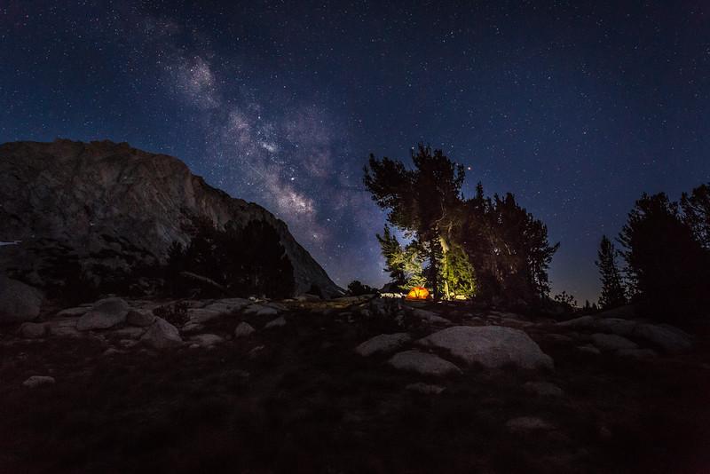 Vogelsang Milkyway - Yosemite High Camp