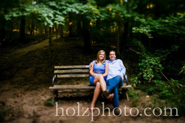 Megan & Ken Color Engagement Photos