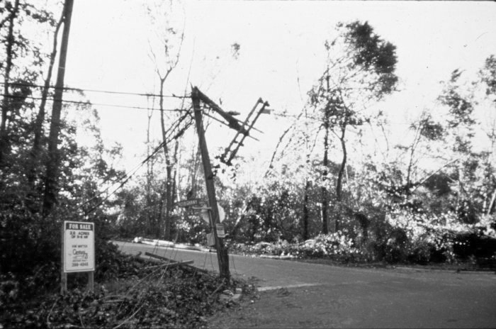 . After passing inland, Hugo was not done wreaking havoc, electric power was interrupted throughout Charlotte, North Carolina. Some areas were without power for up to 3 weeks. Ron Kuhn, NOAA. NOAA\'s National Weather Service (NWS) Collection