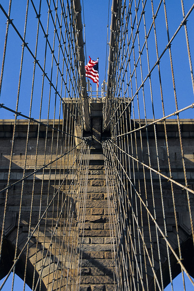 Brooklyn Bridge Walkway - I've come to find (after taking this picture) that it's a bit of a cliche.  This is my take on it anyway...