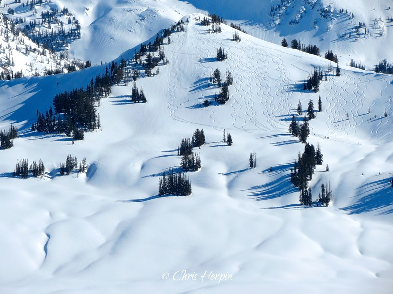 Grand Targhee ski area - Alta, Wyoming