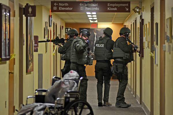 Active shooter drills at Fairview Hospital - 090819