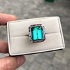 11.77ct Tourmaline Halo Ring by Leon Mege, AGL Cert 39