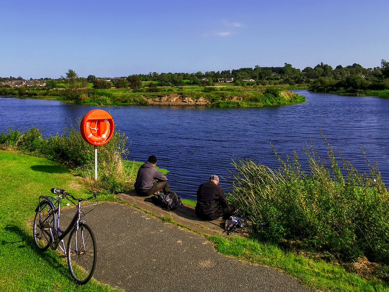 Point of Whitecoat, where the Newry Canal joins the River Bann