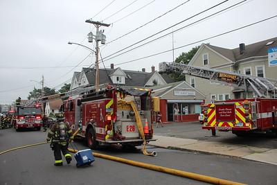 House fire - 212 Pearl St Bridgeport, CT - 7/8/2021