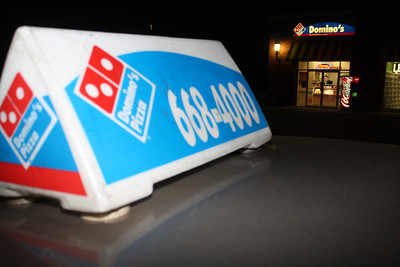 Domino's Pizza Auto Sign Stolen, Tamaqua (3-22-2012)
