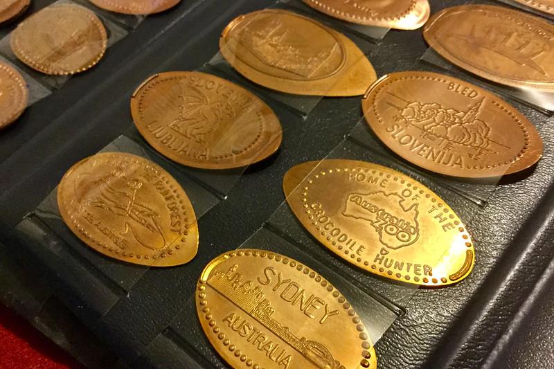 pressed pennies travel souvenir