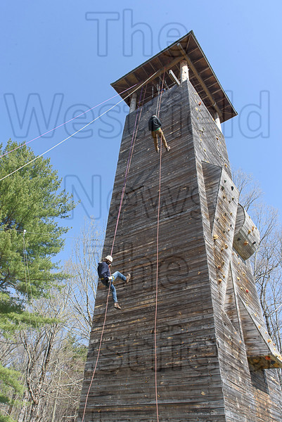 4-24-21 Scout Reservation Rappelling Tower