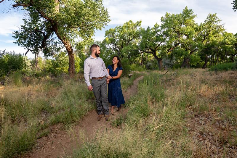 Summer Bosque Engagement Session Corrales New Mexico AJ & Gloria-7178.jpg