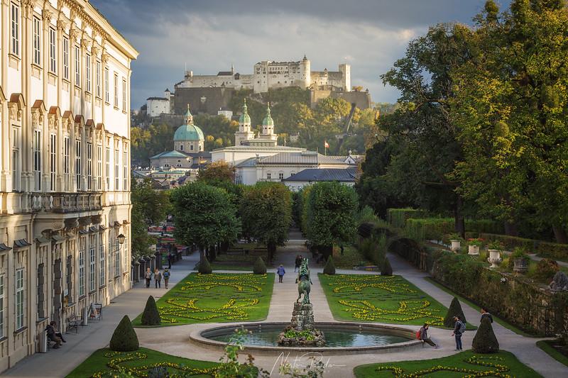 Jardines de Salzburgo