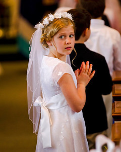 Caitlin's First Communion 05-10-14