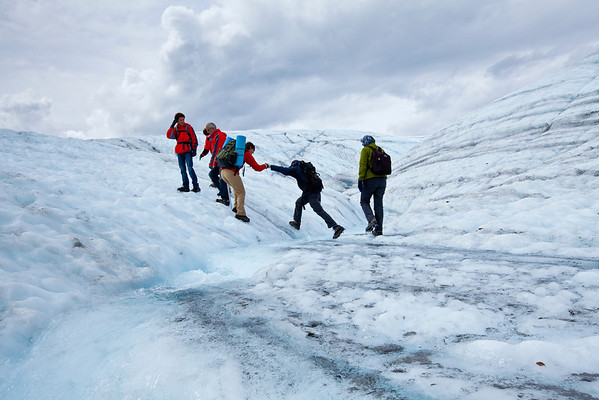 July 16 Root Glacier Hike