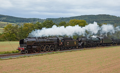 2016-09 Steam Train with 241.A65 and 241.P17