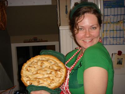 Meg's First Apple Pie