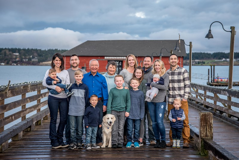 Harada Family Christmas 2018