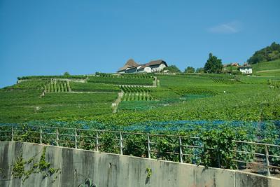 Day 2: Montreaux to Lauterbrunnen