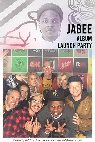 Jabee Album Release Party