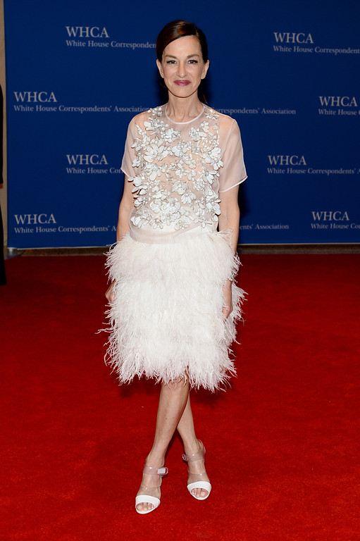 . Actress Cynthia Rowley attends the 100th Annual White House Correspondents\' Association Dinner at the Washington Hilton on May 3, 2014 in Washington, DC.  (Photo by Dimitrios Kambouris/Getty Images)