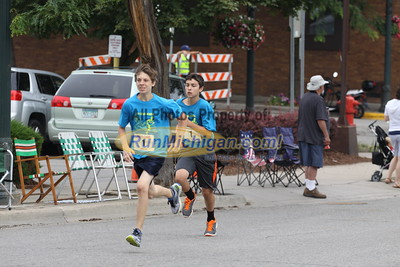 Family Mile - 2015 Venetian Drenth Memorial Foot Race