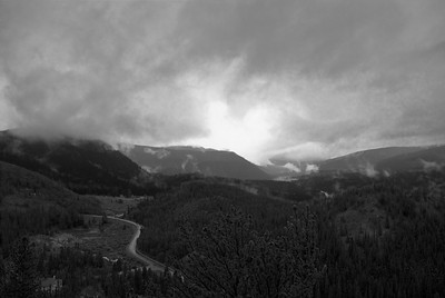 Storm Sequence, Breckenridge to Boreas Pass, Colorado