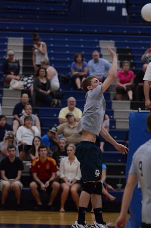 OE Boys Varsity Volleyball Vs Plainfield So .2013