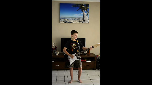 Declan's 1st Electric Guitar
