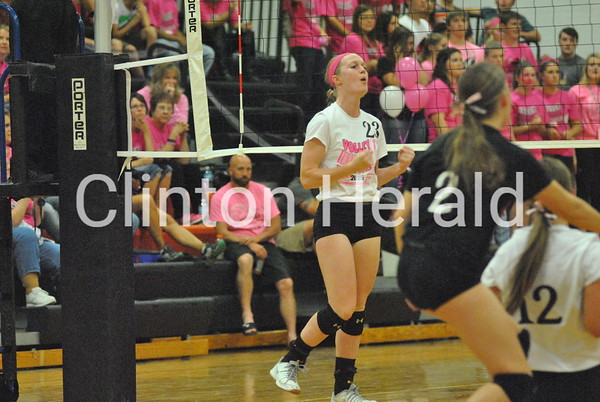 Erie at Prophetstown volleyball (10-6-15)