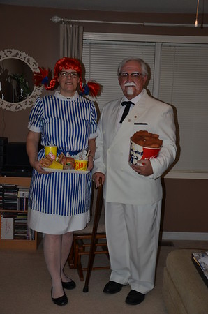 2016 — Colonel Sanders & Wendy (reprise)