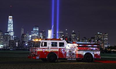 September 11, 2015 Tribute of Light & Apparatus