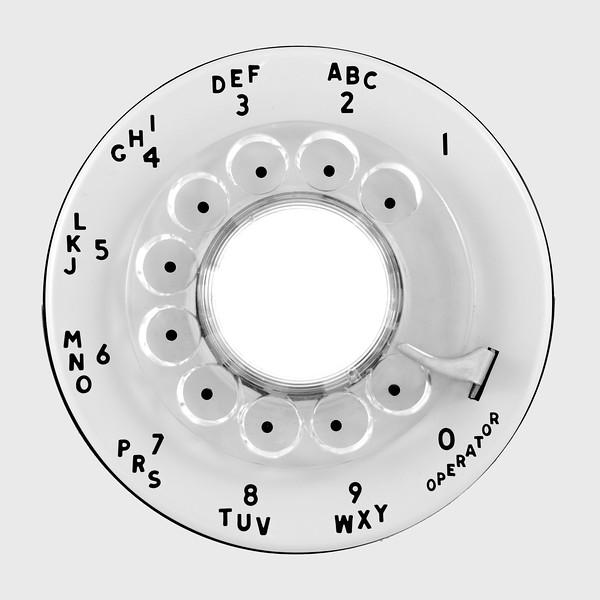 Rotary telephone dial