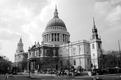 London Churches, Cathedral and Temple
