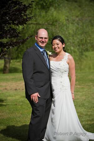 Drs Ann and Jared Heinz wedding