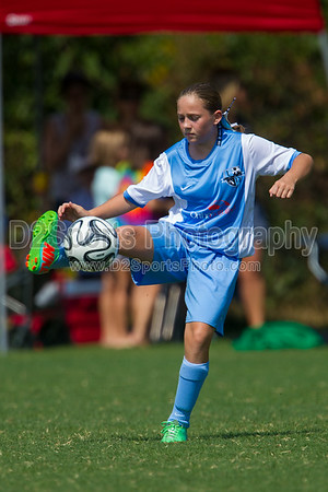 TCYSA 02 LADY TWINS BLUE vs 02 LNSC ECLIPSE COSMOS G - U12 Girls 8/17/2014