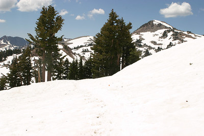 Mt. Lassen, July 5, 2004