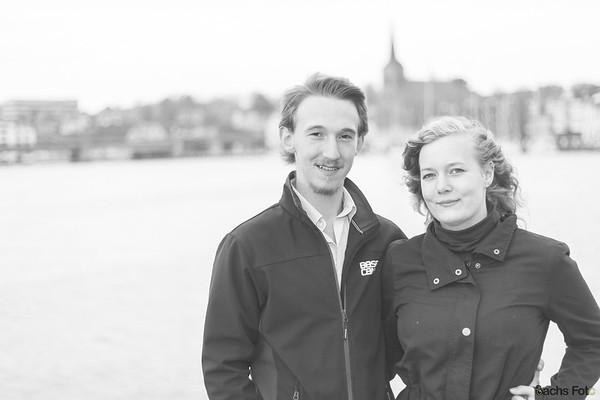 Daniel og Nadja - Sort/Hvid