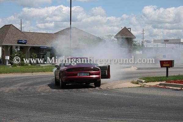 6/29/10 - Mason car fire, Cedar St @ Kipp Rd