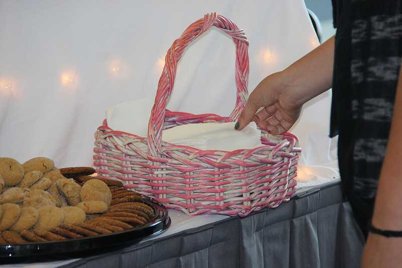 The Women of the ELCA in the Southwestern Pennsylvania Synod baked special cookies to share at the Assembly.