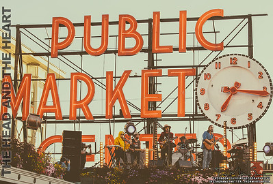 The Head and the Heart - Pike Place Market - Seattle 8.25.19