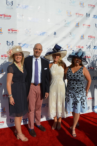 Tammy Stephens (Co-chair) Carol Johnston (Co-chair), Greg Hall, Frisa Hall (Honoree) 3.JPG