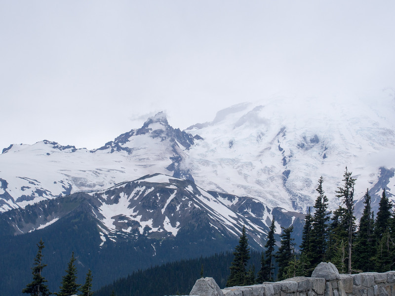 Day 8:  We left Mt Hood and drove to Mt Ranier.  This was the only cloudy day of our entire trip