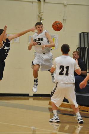 Springfield vs.West Albany Bulldogs Boys High School Basketball