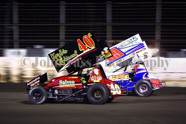 Lee County Sprint Invaders 8-19-2016