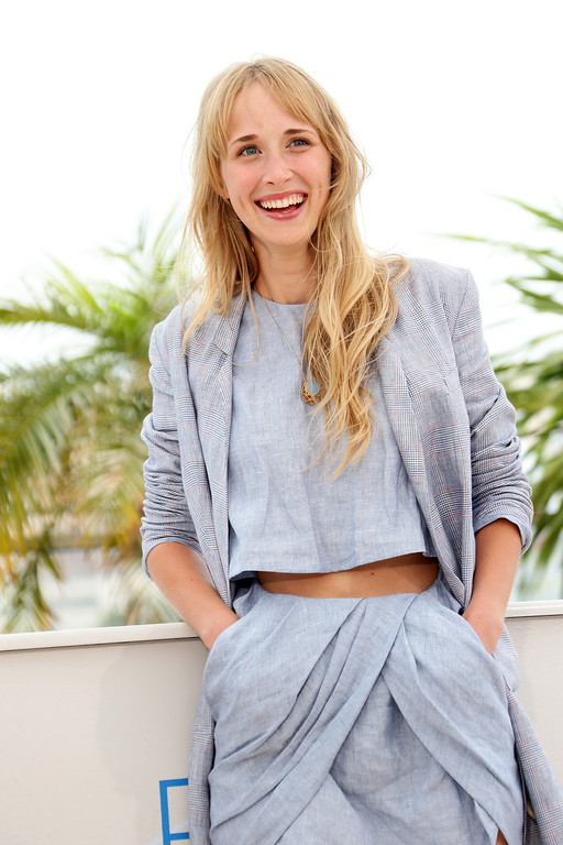 """. Actress Ingrid Garcia-Jonsson attends the \""""Hermosa Juventud\"""" photocall at the 67th Annual Cannes Film Festival on May 19, 2014 in Cannes, France.  (Photo by Vittorio Zunino Celotto/Getty Images)"""