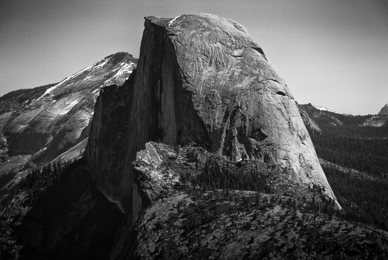 Half Dome in Yosemite National Park - California
