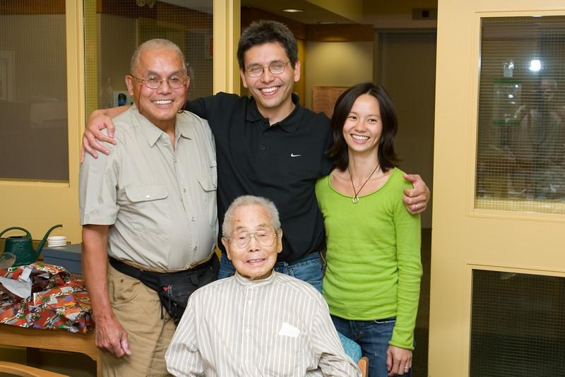 2006 09/09: Ojiichan's 100th Birthday