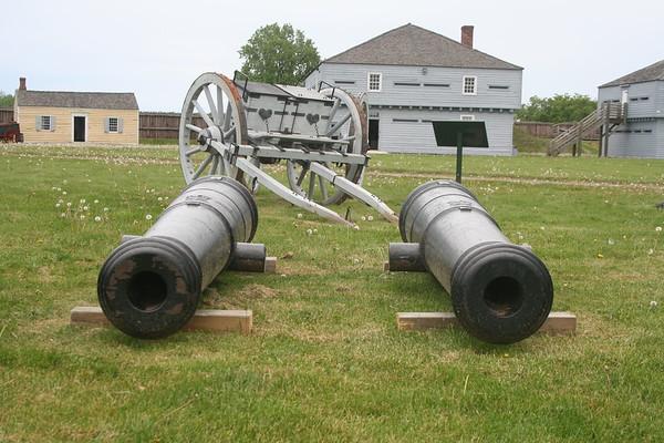 Day 22: Fort George at Niagara-on-the-Lake - 26 May 2007