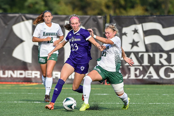 Loyola v Holy Cross - Women's Soccer - 09.28.19