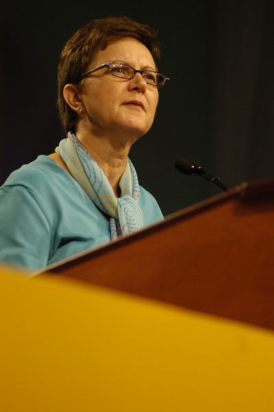 Nancy Arnison, Director for ELCA World Hunger Program.