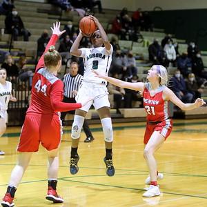 20210217 Girls Basketball - Mentor v Aurora Sect. Semi